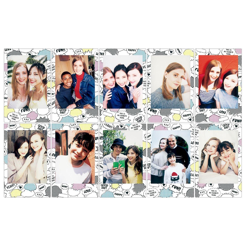 Fujifilm Instax Mini Film Comic Antaki Group Paper
