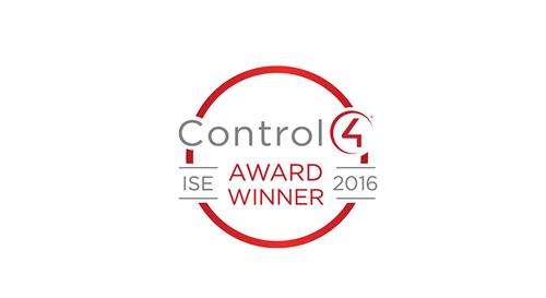 "Audiotek SARL awarded as Control4 ""Dealer of the year – EMEA""."