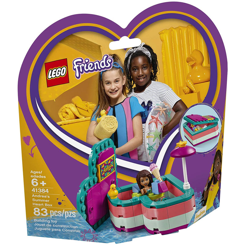 LEGO FRIENDS Andrea's Heart Box - Antaki Group - House of ...